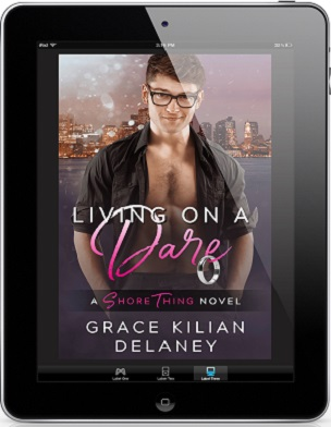 Living On A Dare by Grace Kilian Delaney Release Blast & Giveaway!