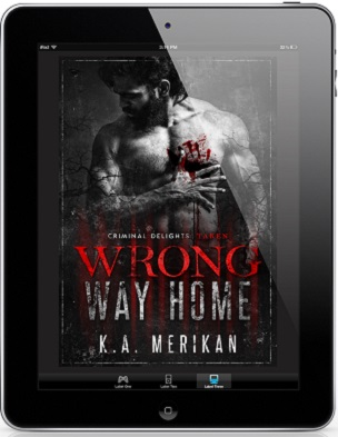 Wrong Way Home by K.A. Merikan Blog Tour & Giveaway!