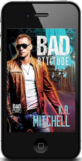 Bad Attitude by K.A. Mitchell ~ Audio Review