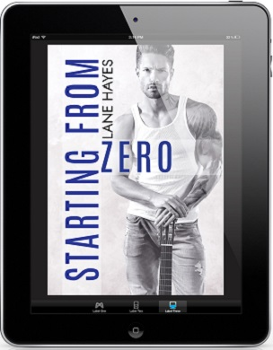 Starting From Zero by Lane Hayes Release Blast, Excerpt & Giveaway!
