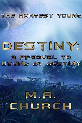 M.A. Church - Destiny Cover 1093jna
