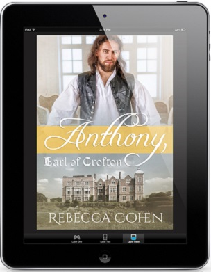 Anthony, Earl Of Crofton by Rebecca Cohen Cover Reveal & Giveaway!