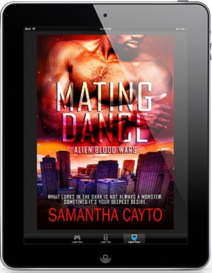 Mating Dance by Samantha Cayto