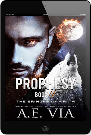 A.E. Via - Prophesy Book #2 The Bringer of Wrath 3d Cover 3474yh