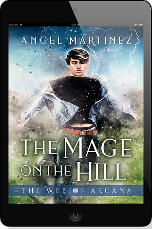 The Mage on the Hill by Angel Martinez