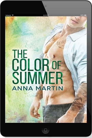 The Color Of Summer by Anna Martin Blog Tour, Excerpt & Giveaway!