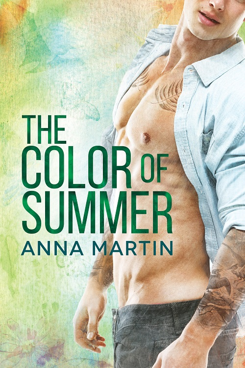 Anna Martin - The Color Of Summer Cover 524f3r