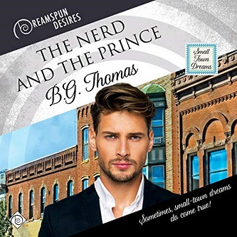 B.G. Thomas - The Nerd and the Prince Audio Cover 90823gla