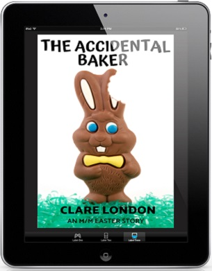 The Accidental Baker by Clare London Release Blast & Giveaway!