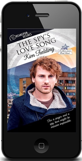 The Spy's Love Song by Kim Fielding ~ Audio Review