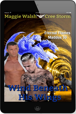 Maggie Walsh & Cree Storm - Wind Beneath His Wings 3d Cover 023g3v4c