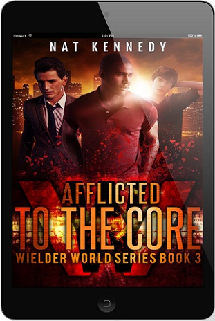 Afflicted to the Core by Nat Kennedy Cover Reveal!