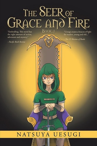 Natsuya Uesugi - 01 - The Seer of Grace and Fire Cover 134j3873