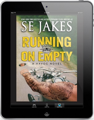 Running On Empty by S.E. Jakes Blog Tour, Excerpt & Giveaway!
