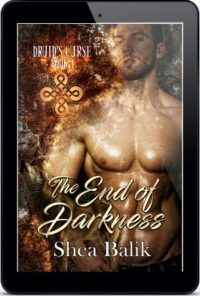 Shea Balik - The End Of Darkness 3d Cover 837gt