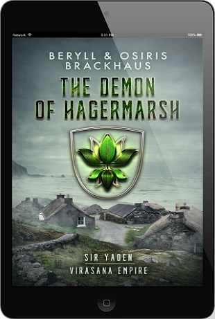 Beryll and Osiris Brackhaus - The Demon of Hagermarsh 3d Cover 346tfx