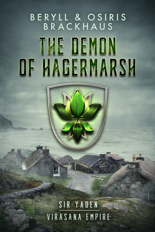 Beryll and Osiris Brackhaus - The Demon of Hagermarsh Cover 3948yglp