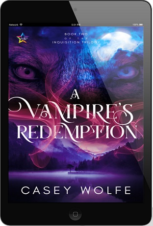 A Vampire's Redemption by Casey Wolfe Release Blast, Excerpt & Giveaway!