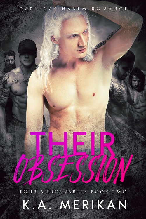 K.A. Merikan - Their Obsession Cover 34758hn