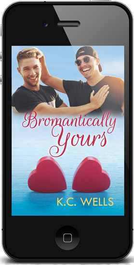 Bromantically Yours by K.C. Wells ~ Audio Review