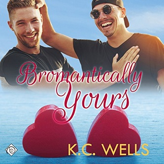 K.C. Wells - Bromantically Yours Audio Cover b4n4g