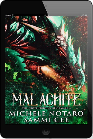Malachite by Michele Notaro & Sammi Cee Blog Tour, Exclusive Excerpt & Giveaway!