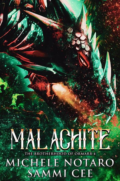 Michele Notaro & Sammi Cee - Malachite COVER 238yt34