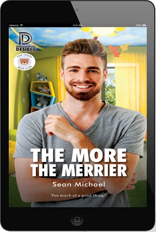 Sean Michael - The More the Merrier 3d Cover euj47