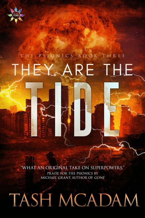 Tash McAdam - They Are the Tide Cover 4373op