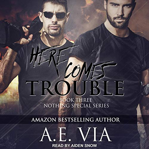 A.E. Via - Here Comes Trouble Audio Cover 3487hn