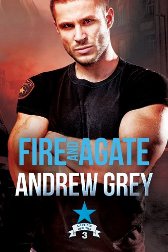 Andrew Grey - Fire & Agate Cover 8vc3d
