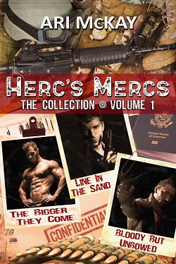 Ari McKay - Herc's Mercs VOL 1 Cover 4b40pe