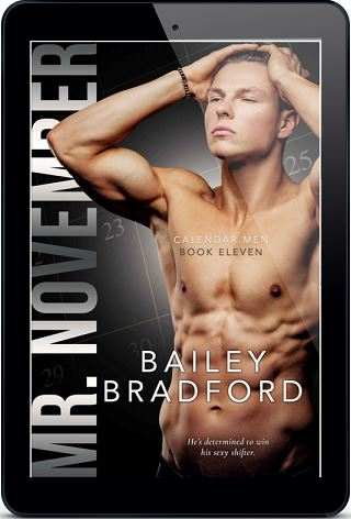 Mr. November by Bailey Bradford