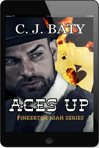 Aces Up by C.J. Baty Release Blast & Giveaway!