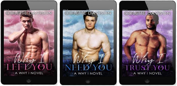 Why I… series by Colette Davison Book Blast, Excerpts & Giveaway!