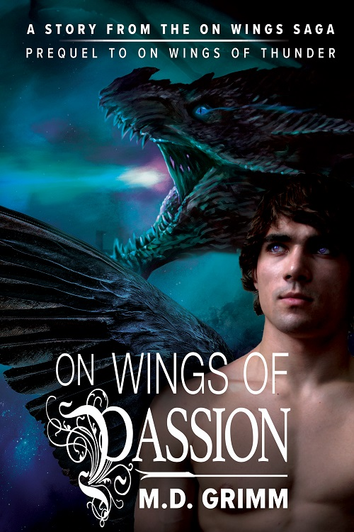 M.D. Grimm - On Wings of Passion Cover 3484uhm