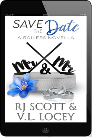 R.J. Scott & V.L. Locey - Save The Date 3d Cover 34726hy