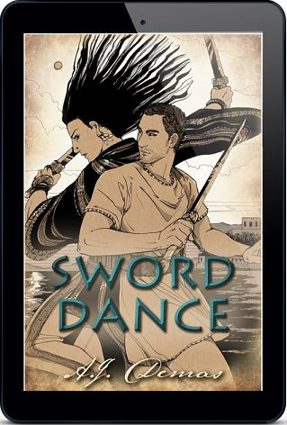 Sword Dance by A.J. Demas Blog Tour & Giveaway!