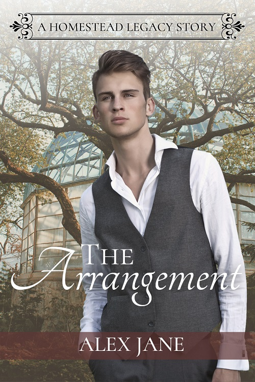 Alex Jane - The Arrangement Cover mej837