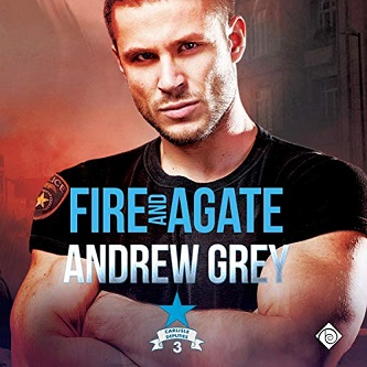 Andrew Grey - Fire & Agate Audio Cover 45yy5