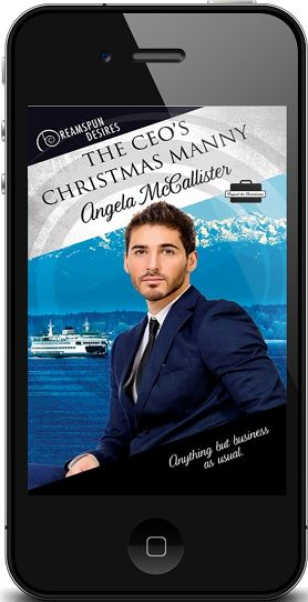 The CEO's Christmas Manny by Angela McCallister ~ Audio Review