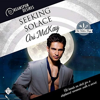 Ari McKay - Seeking Solace Audio Cover 234ierjk