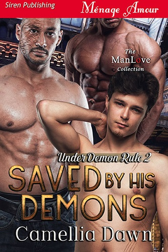 Camellia Dawn - Saved by His Demons Cover n393