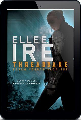Elle E. Ire - Threadbare 3d Cover h56y75