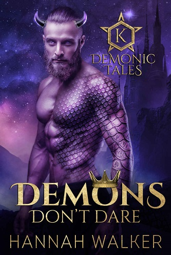 Hannah Walker - Demons Don't Dare Cover 464tg4b