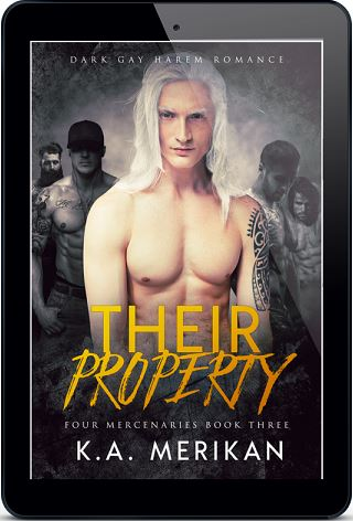 Their Property by K.A. Merikan Release Blast & Giveaway!