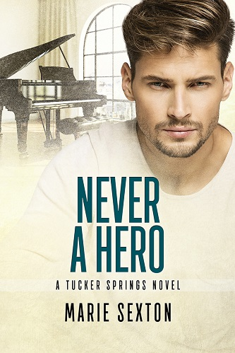 Marie Sexton - Never a Hero Cover 56h5t