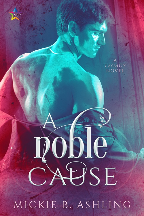 Mickie B. Ashling - A Noble Cause Cover che37h