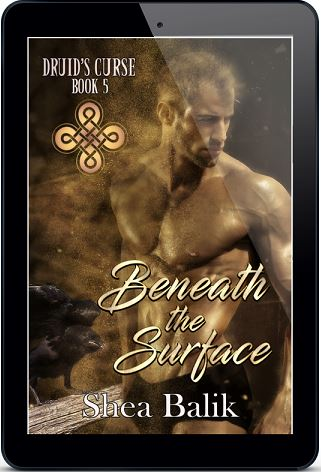 Beneath the Surface by Shea Balik Cover Reveal & Giveaway!