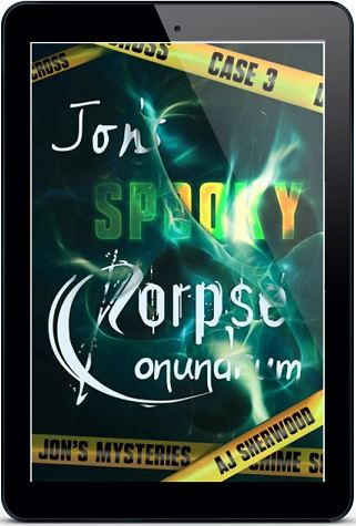 A.J. Sherwood - Jon's Spooky Corpse Conundrum 3d Cover jkrew3